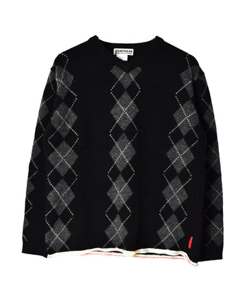 GOODENOUGH / Check Knit Sweater / 11215 - 0103 55.2