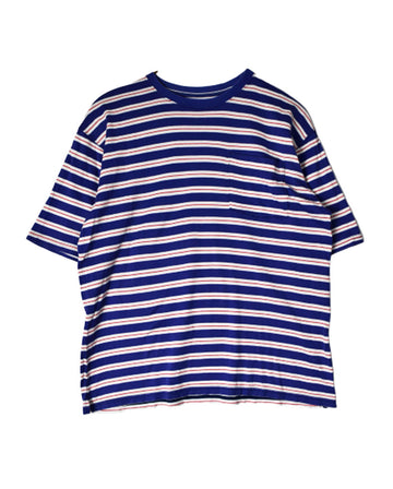 SOPHNET / Stripe Design T-Shirt / 11252 - 0105 34.3