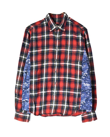 SOPHNET / Rebuild Check Graphic Shirt / 11254 - 0105 69.06