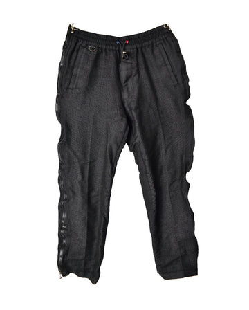 SOPHNET / Black Zipper Pants / 11265 - 0105 51.9