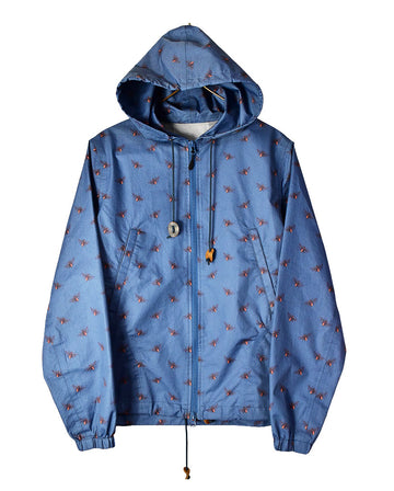 UNDERCOVER / Graphic Nylon Hooded / 11333 - 0109 133.19