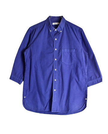 nonnative / Plain Blue Shirt / 11389 - 0112 33.2