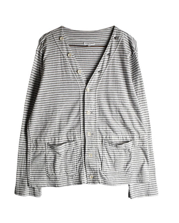 Engineered Garments/Stripe Thin Cardigan /11446 - 0114 57.4