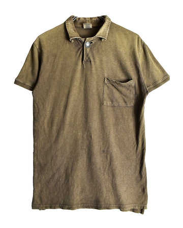 KAPITAL / Plain Damaged Polo Shirt / 11473 - 0116 39.8