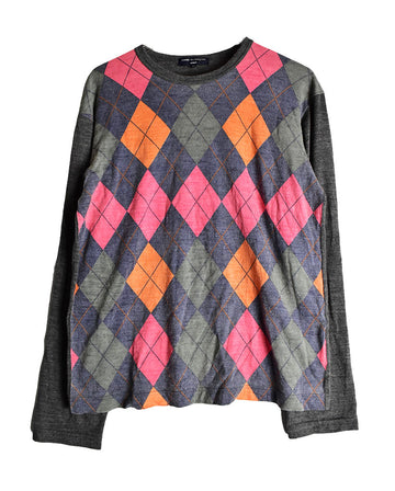 COMME des GARCONS / Checker Knit Sweater /11474 - 0116 56.3