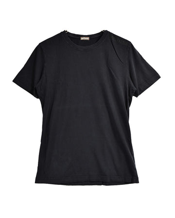 John Galliano / Black Plain T-Shirt / 11517 - 0118 27.92