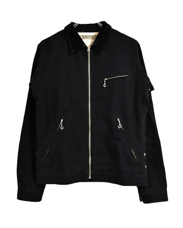 TROVE / Black Zipper Jacket / 11519 - 0118 30.582