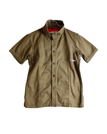 NUMBER NINE / Short Nylon Shirt Jacket / 11529 - 0118 50.91