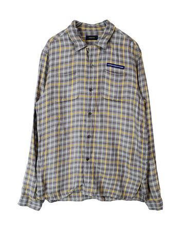 UNDERCOVER / Checker Two Pocket Shirt / 11560 - 0120 78.3