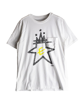 SOLOIST/Star Graphic Pocket T-Shirt/11588 - 0121 53