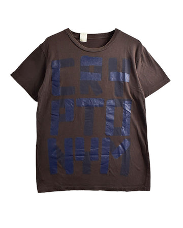 N.HOOLYWOOD/Letter T-Shirt/11619 - 0122 33.2