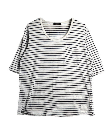 UNDERCOVER/Stripe T-Shirt/11712 - 0127 42