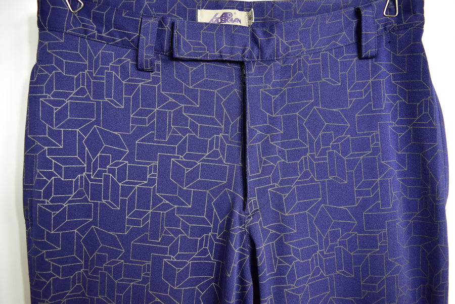 LAD MUSICIAN/Graphic Design Slacks Pants/11797 - 0131 32.98