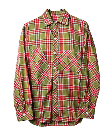 Engineered Garments/Checker Work Shirt/12055 - 0214 47.5