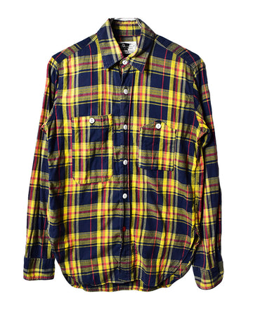 Engineered Garments/Checker Work Shirt/12191 - 0222 47.5