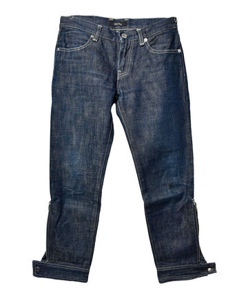 UNDERCOVER/Cropped Denim Pants/12430 - 0308 86