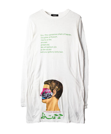 UNDERCOVER/Art Graphic Lettered T-Shirt/12505 - 0312 100.3