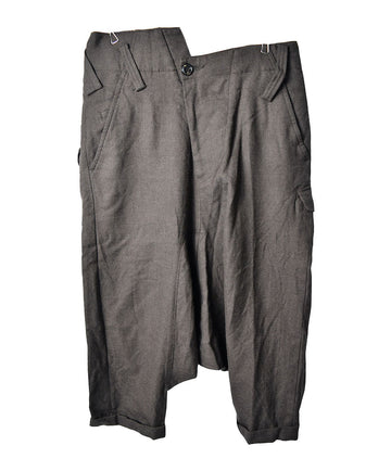 GANRYU/Asymmetric Denign Saruel Pants/12555 - 0314 78.3