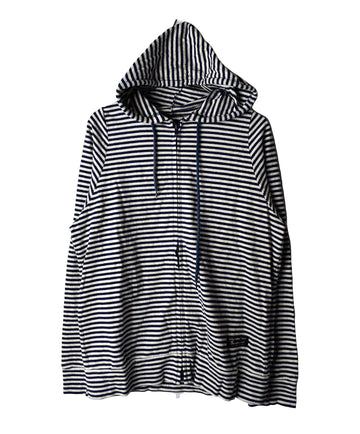 Engineered Garments/Stripe Hooded/12613 - 0318 56.3