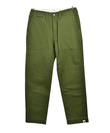 BAPE/Green Chino Pants/12774 - 0327 51.9