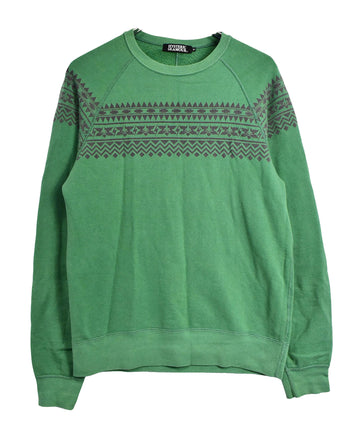 HYSTERIC GLAMOUR/Ethnic Line Sweat Shirt/12820 - 0330 47.5