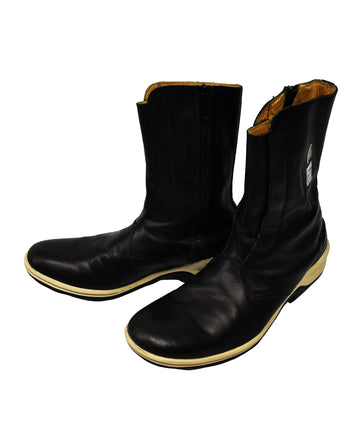UNDERCOVER/Black Leather Boots/12840 - 0331 181.59