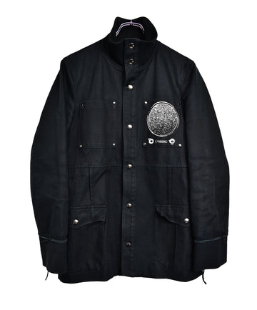 UNDERCOVER/Graphic Military Jacket M65/12841 - 0331 181.59