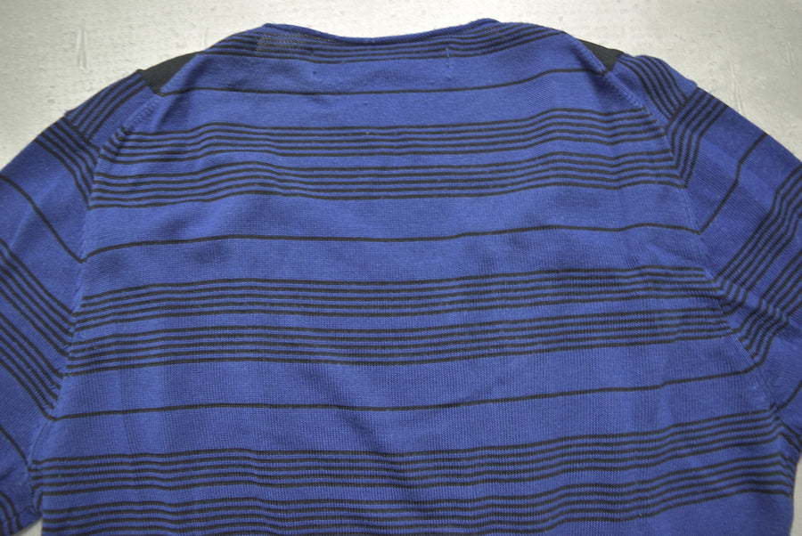 COMME des GARCONS HOMME PLUS / Black Line Blue Check Sweater