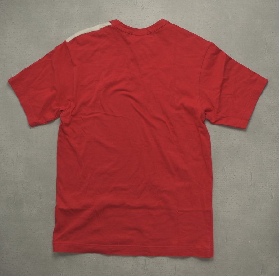 COMME des GARCONS/ Red Embroidary Cutsew