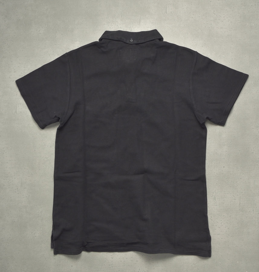 Engineered Garments / Black Polo Shirt