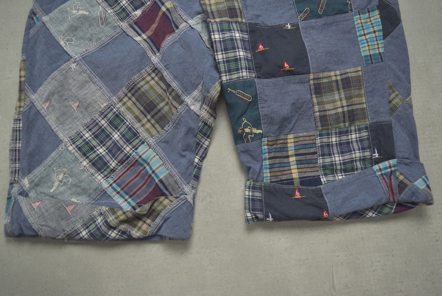 Engineered Garments / Patchwork Short Pants