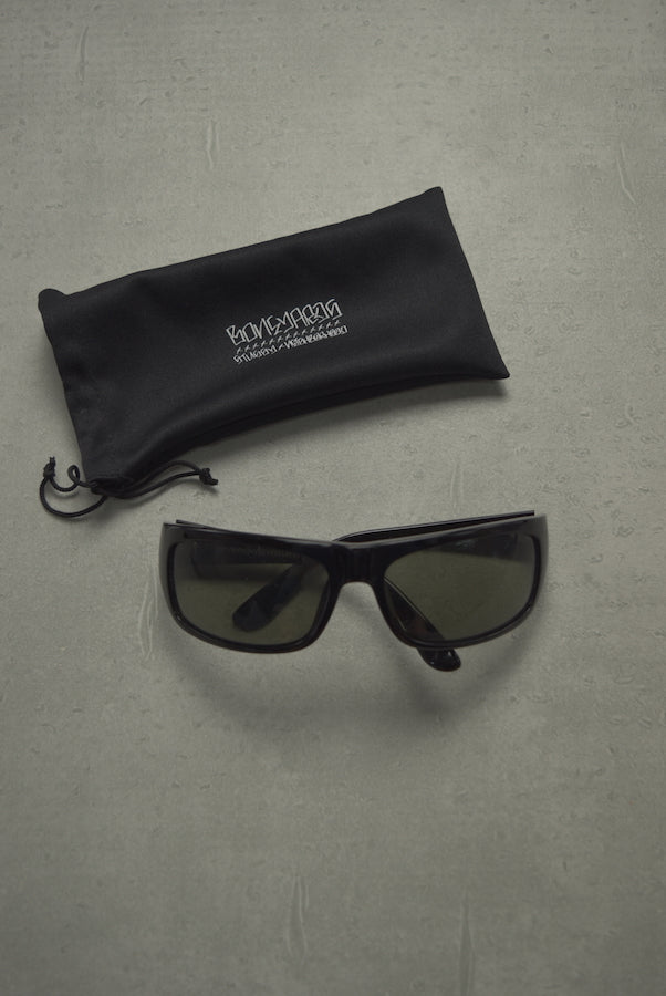 NEIGHBORHOOD × STUSSY / Black Square Sunglass