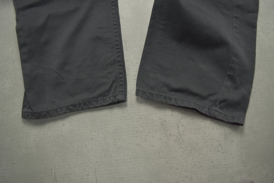 fragment DESIGN × Levi's fenom / Black Thunder Logo Cropped Pants