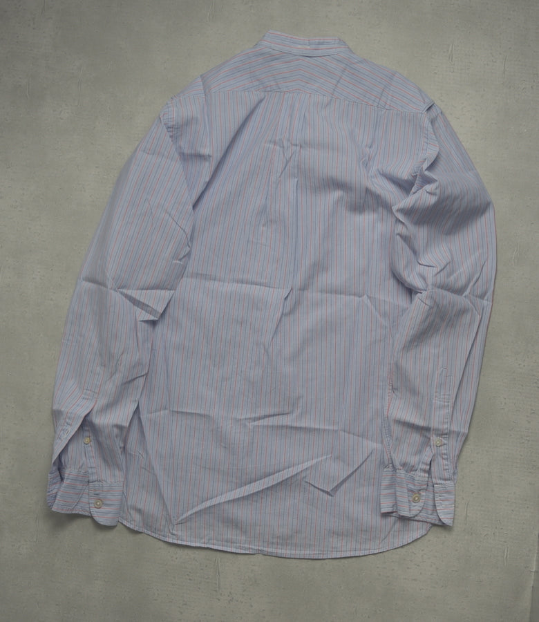 Engineered Garments / Blue Stand Collar SHirt