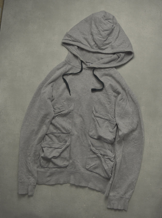 NUMBER(N)INE / Grey Multi Pocket Hoodie