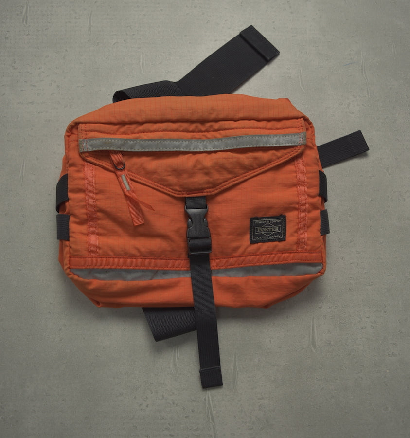 PORTER / Orange Sporty Shoulder Pouch