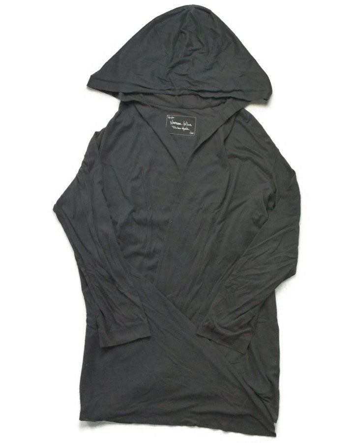 NUMBER(N)INE / Black Hooded Cutsew