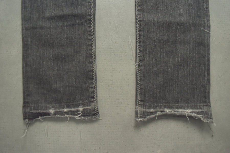 NUMBER(N)INE / Grunge Damage Denim Pants