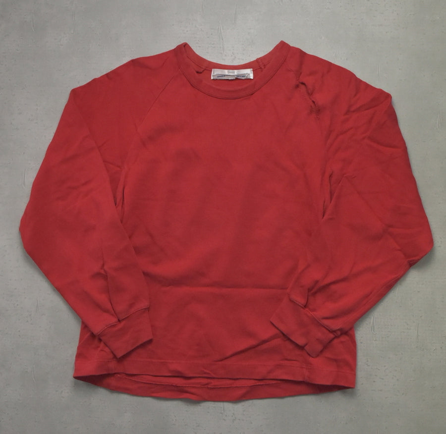 COMME des GARCONS SHIRT / Red Long Cutsew