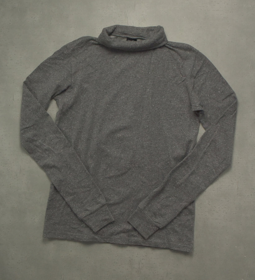 NUMBER(N)INE / Grey Turtle Neck Cutsew
