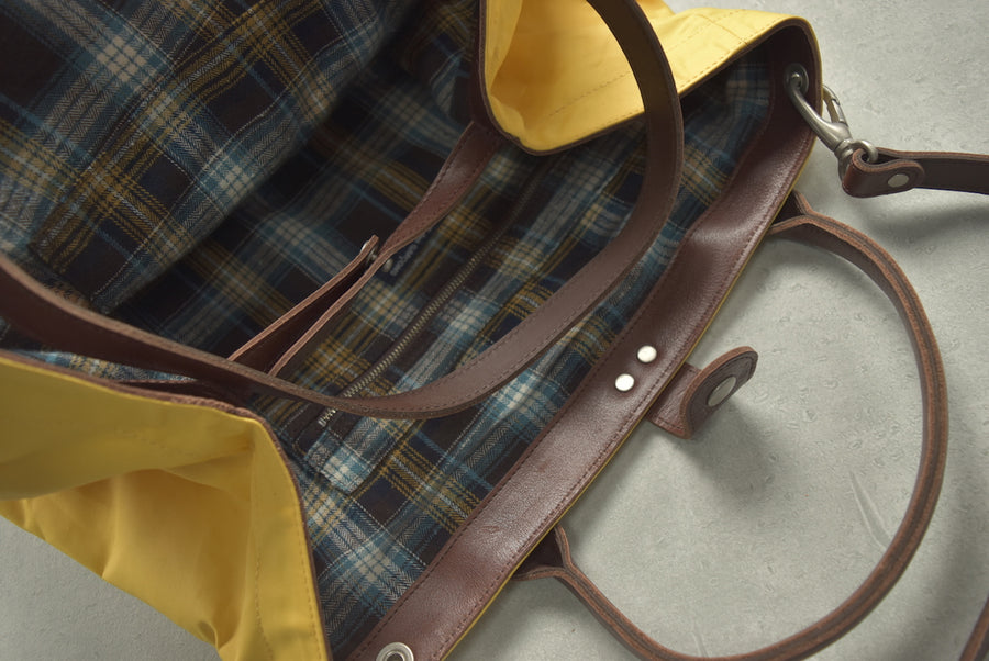 COMME des GARCONS HOMME / Yellow Tote Shoulder Bag