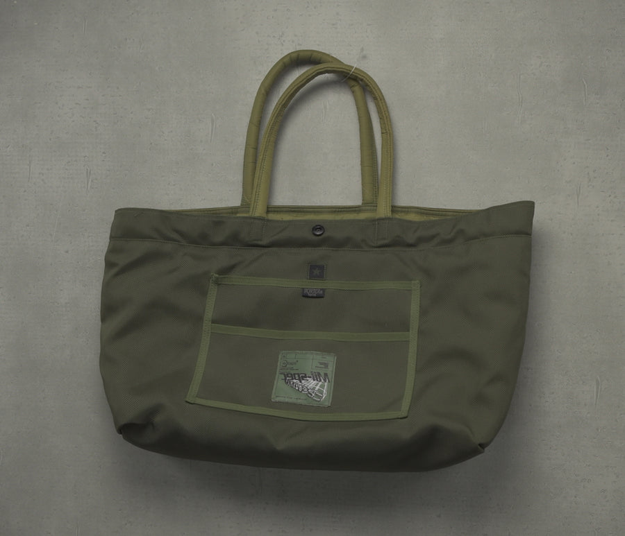 WTAPS × PORTER / Olive Military Tote Bag