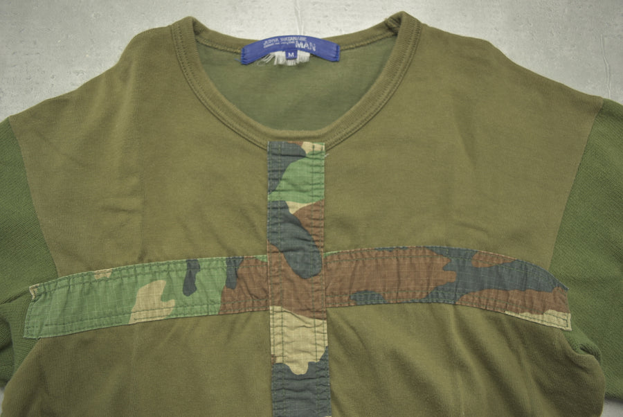 JUNYA WATANABE MAN COMME des GARCONS / Military Camo Cross Cutsew