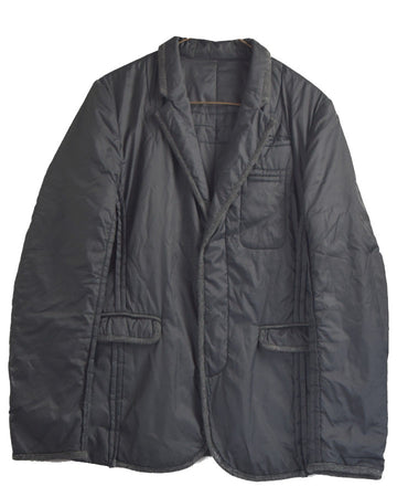 UNDERCOVER / Black Nylon Tailored Jacket