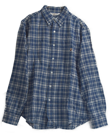BAPE / Blue Check Shirt