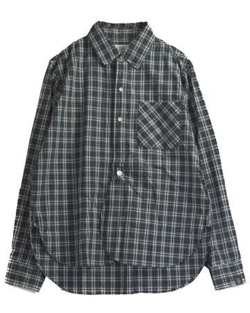 BAPE / Grey Check Shirt
