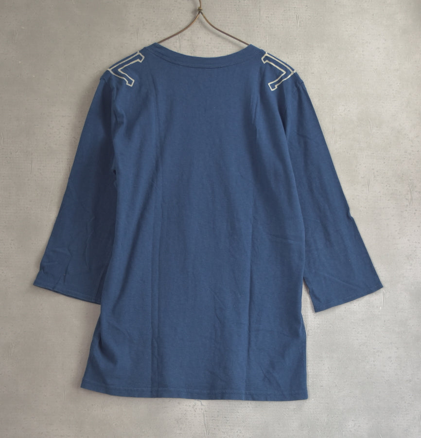 cavempt / Blue Three Quarter Sleeve Shirt