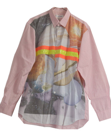 COMME des GARCONS SHIRT / Reflector Cosmo Graphic Print Shirt