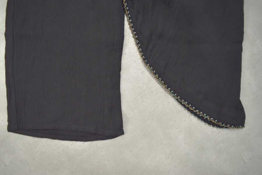 KAPITAL / Black Thai Pants