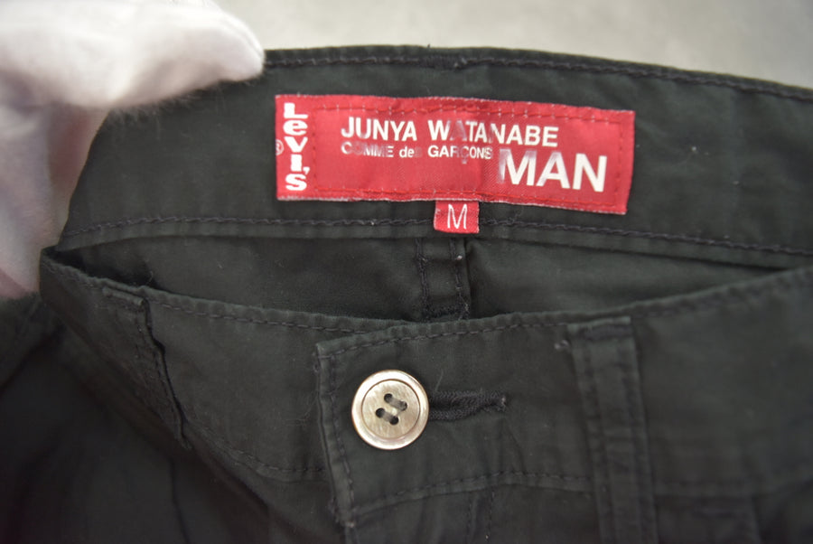 JUNYA WATANABE MAN COMME des GARCONS × Levi's / × Levi's Black Cotton Pants
